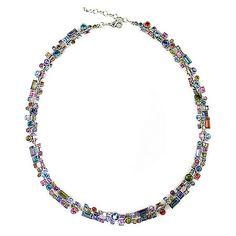 Confetti Necklace in Silver Fling, Patricia Locke Jewelry $320