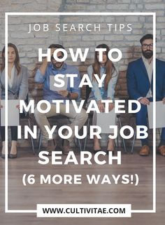 Job searching can be discouraging. That's why I'm sharing six practical tips to stay motivated in your job search to give you a boost of encouragement. Interview Advice, Job Interview Questions, Job Interviews, Job Career, Career Advice, Job Hunting Tips, Money Saving Mom, Job Search Tips, Time Management Tips