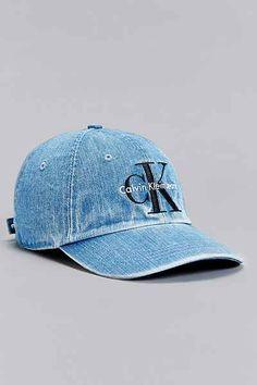 Calvin Klein Denim Baseball Hat