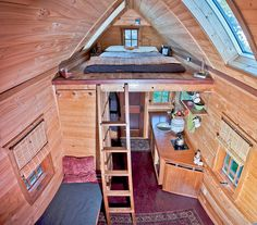 Houses Built On Trailers | ... tiny houses designer of tiny homes under 200 sf built on trailers