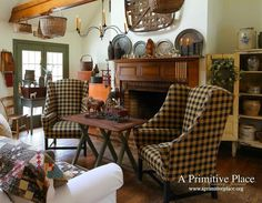 Primitive bathrooms 223631937734891432 - Primitive Living Room Furniture And Pin By Brenda Hines On Colonial Trends Pictures ~ Cittahomes Source by melsmountain Primitive Living Room, Primitive Country Homes, Primitive Bathrooms, Primitive Furniture, Antique Furniture, Primitive Antiques, Antique Decor, Upholstered Furniture, Prim Decor