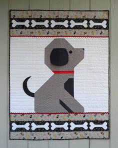 Give a Dog a Bone Baby Quilt Pattern