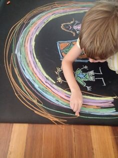 Blackboard tablecloth (various sizes) - Image In Action