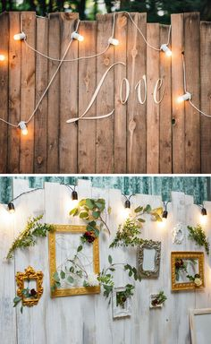Photo box for the wedding: 40 cool photo wall ideas – wedding box Diy Wedding Bar, Diy Wedding On A Budget, Diy Wedding Backdrop, Wedding Boxes, Diy Wedding Decorations, Dream Wedding, Diy Photo Backdrop, Diy Outdoor Weddings, Event Planning Business