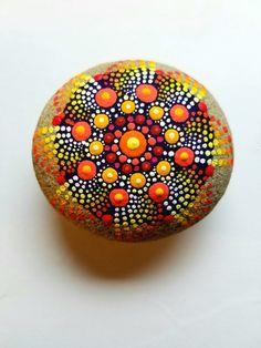 Caída de piedra del Mandala de Color punto por P4MirandaPitrone