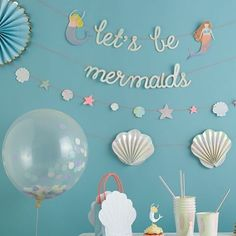 Let's be ........#mondaymood #mermaidparty #merimeri #OPBCo  #stylishly #fun #partyware www.theoriginalpartybagcompany.co.uk