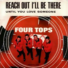 Reach Out I'll Be There by the Four Tops, a defining moment of Motown's brilliance, was released on 18 August 1966 and hit No. 1 in the US on 15 October. Blues Rock, Music Albums, Album Songs, Hard Rock, Top 100 Songs, 60s Music, Music Radio, Four Tops, Vinyl Labels