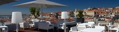 Rooftop Bar, Hotel Mundial, Lisboa Lisbon Bars, Portugal, Rooftop Bar, Terrace, Travelling, Places To Go, Lounge, Patio, Dance