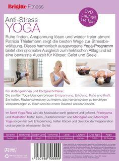 Brigitte Fitness. Anti-Stress Yoga. Entspannung für Körper und Geist: Amazon.de: Patricia Thielemann, Elli Becker: DVD & Blu-ray