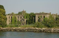 Opened in 1856, this smallpox hospital on the southern tip of Blackwell's Island (now Roosevelt Island) was part of a multitude of public institutions to care for New York City's unfortunate and destitute. The island sits between Queens and Manhattan, and was easily accessible by ferry; it was home to a prison, insane asylum, and other similar facilities.As of 1872, an annual number of 7,000 patients were treated, with an average of 450 deaths. The island was renamed Welfare Island in 1921,...