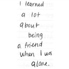 I learned a lot
