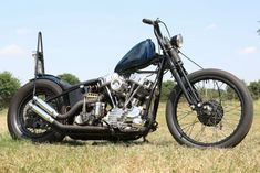Harley-Davidson FL 1954 Panhead Starrahmen Chopper #harleydavidsonbaggercaferacers