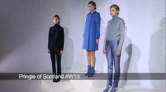 Watch the Pringle of Scotland presentation for autumn/winter 2013 at London Fashion Week.