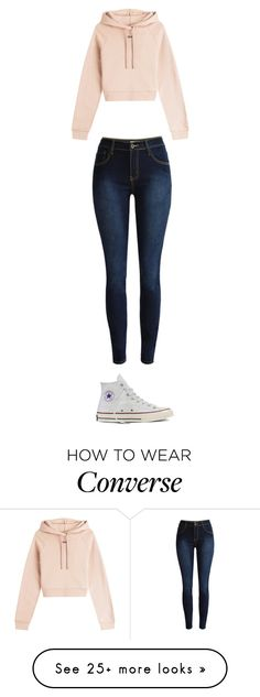"""""""Untitled #333"""" by izzybean100 on Polyvore featuring Off-White and Converse"""