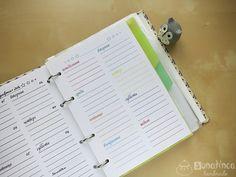 Бесплатный ежедневник для самостоятельной печати