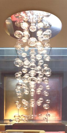 pelle chandeliers | ... Chandeliers, Floating Bubble Chandelier, Jean Pelle Bubble Chandelier