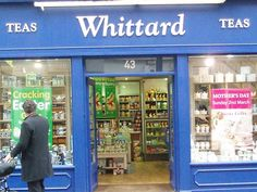 My absolute favorite tea shop - Wittard on Carnaby Street