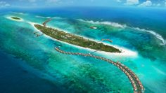 The Residence Maldives: The Residence Maldives is set on a diminutive private island on a remote atoll.