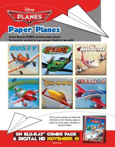 Make your very own #DisneyPlanes featuring your favorite characters!