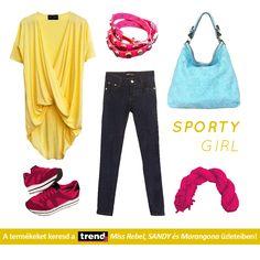 66486e7666 Sportos, nyári, női szett a Trend2 Budaörs Miss Rebel, Sandy és Marangona  üzleteiből