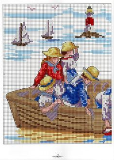 View album on Yandex. Cross Stitch Sea, Cross Stitch For Kids, Cross Stitch Boards, Cross Stitch Needles, Cute Cross Stitch, Counted Cross Stitch Patterns, Cross Stitch Designs, Cross Stitch Embroidery, Stitch Doll