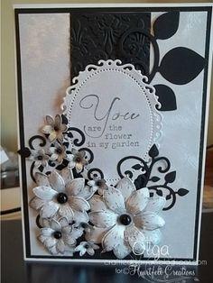 Heartfelt Creations | Elegant Fleur Card