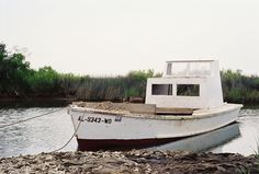 Alabama oyster boat; photo by Heather Bisson