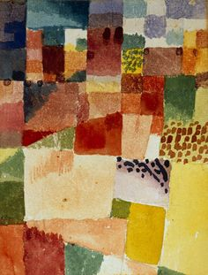 Motive from Hamammet 1914 Art Print by Paul Klee at King & McGaw