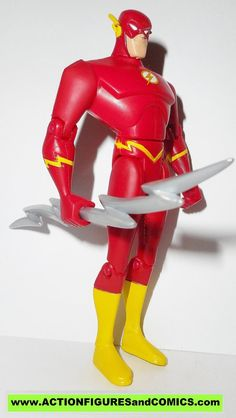 justice league unlimited FLASH silver lightning bolt wally west dc universe