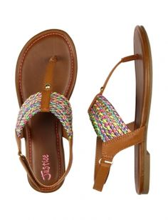 FRIENDSHIP MULTI T-STRAP SANDALS | GIRLS POP PRINCESS HOTTEST OUTFITS | SHOP JUSTICE