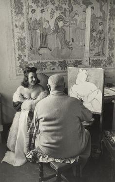 Henri Cartier-Bresson. Henri Matisse, Vence, France. 1944