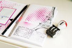 texture in art journal