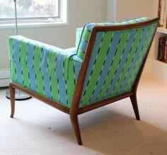 T. H. Robsjohn-Gibbings; Lounge Chair for Widdicomb, 1950s.