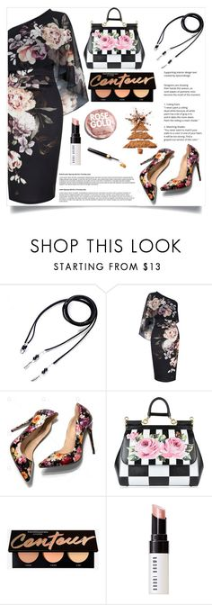 """""""NineCarpStudioStore 19"""" by merisa-imsirovic ❤ liked on Polyvore featuring Lipsy, Dolce&Gabbana, Bobbi Brown Cosmetics and Urban Outfitters"""