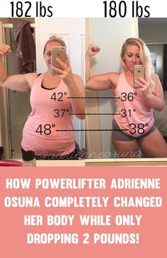 You Can Check Out Adrienne On Her Social Media Here: Instagram: @adrienneosuna Website/Ebooks: powerliftingcake.bc.com Adrienne transformed her body with a series of diet and training guidelines which she lists on her Instagram. She wants to make an important point, that wha the scale shows doesn't always matter and it's about how you look and feel. …