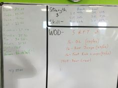 Crossfit WOD. I really liked this workout. 20:12 RX