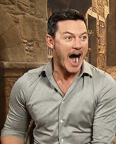 All Hail Luke Evans