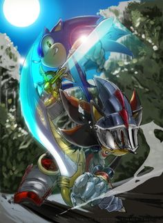 Sonic and Shadow fight!
