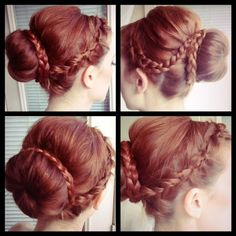 """how to do the """"bohemian princess"""" bun // loving these easy upgrades on the typical sock bun!"""