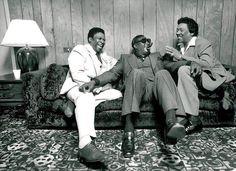 B.B King, Albert King, Bobby Blue Bland.