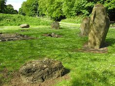 Balbirnie Stone Circle Feature Page on Undiscovered Scotland
