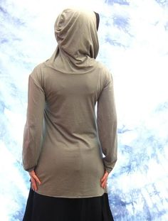 Bamboo Organic Cotton Hoodie by Violet Star Creations