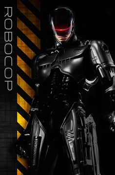 RoboCop 2014 - The Justin Paul Variant - V1 by FireWireDesign