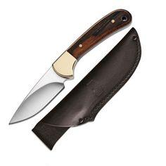 #BuckKnives: Ranger Skinner, Ebony Handle, Plain Fixed Blade #SkinningKnife #HuntingKnives #113BRS #Sales $53.25 In Stock