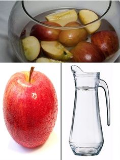 Água de maça com canela  Vamos ensinar agora uma receita muito boa para quem está na batalha contra a balança: a água de maçã e canela. #EmagrecerComSaude #AguaDeMaçaECanela