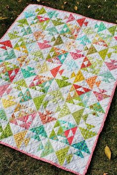 Kissing Fish Baby Quilt Free Pattern