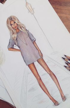 Be Inspirational ❥ Mz. Manerz: Being well dressed is a beautiful form of confidence, happiness & politeness Fashion Illustration Sketches, Illustration Mode, Fashion Sketchbook, Fashion Sketches, Fashion Design Illustrations, Arte Fashion, Moda Fashion, Fashion Fashion, Fashion Ideas
