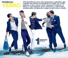 GQ mostra cinco tendências de verão para você: o náutico, as cores vibrantes, o jeans total, o branco puro e o tropical - GQ