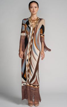 Shop Pucci Maxi Dress by New York Vintage - Moda Operandi