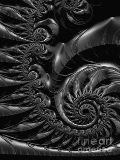 Silver spiral...